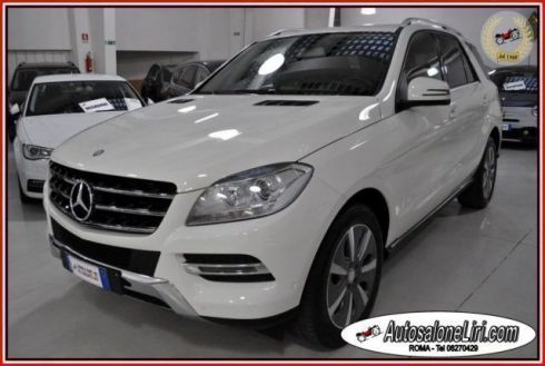 MERCEDES-BENZ ML 250 BlueTEC 4Matic SPORT NAVI/PDC