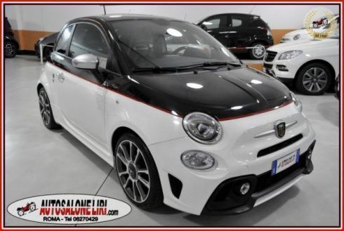 ABARTH 595 TURISMO1.4Turbo TJet 165cv BICOLORE/PELLE/UCONNECT