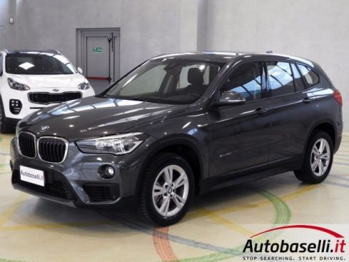 BMW X1 SDRIVE18D ADVANTAGE 150CV NAVIGATORE BLUETOOTH