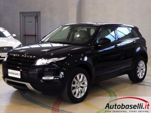LAND ROVER Range Rover Evoque 2.2 TD4 PURE TECH PACK, FARI XENO, PELLE TOTALE