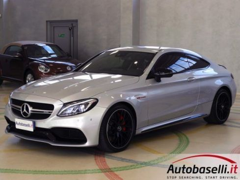 MERCEDES-BENZ C 63 AMG S COUPE 4.0 V8 510 CV 7AMG MCT UNICO PROPRIETARIO