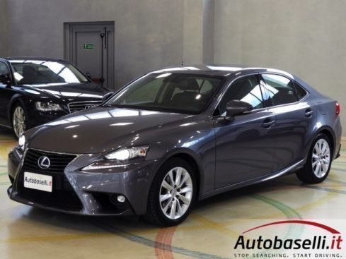 LEXUS IS 300 300H EXECUTIVE IBRIDA AUTOMATICA NAVI PELLE XENO