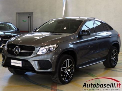 MERCEDES-BENZ GLE 350 D COUPE' 4MATIC PREMIUM PLUS 9G PELLE LED