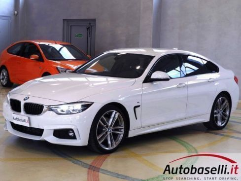 BMW 420 D GRAN COUPÉ MSPORT 190CV AUTOMATICO LED BLUETOOTH