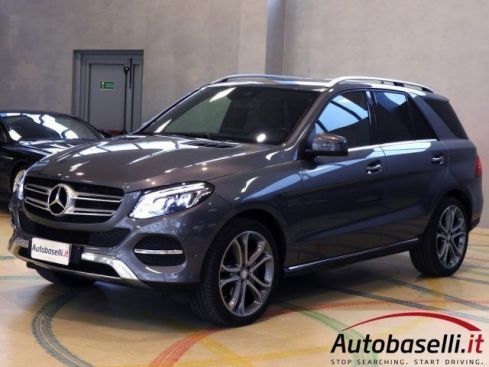 MERCEDES-BENZ GLE 250 D 4MATIC EXCLUSIVE 9G OFFROAD+ 4x4 PELLE LED