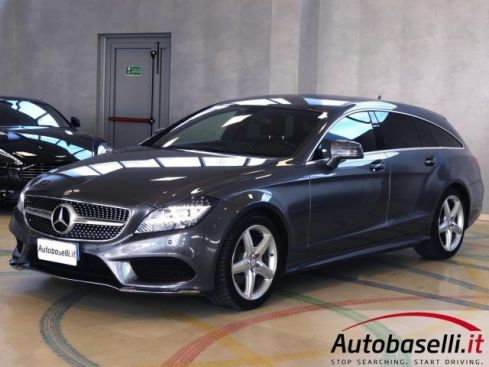 MERCEDES-BENZ CLS 220 SHOOTING BRAKE 220 D PREMIUM PELLE LED NAVIGATORE