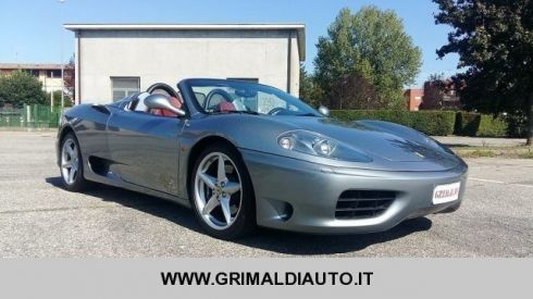 FERRARI 360  SPIDER *1 PROPRIETARIO*SOLO 28.000KM*CAMBIO MANUAL
