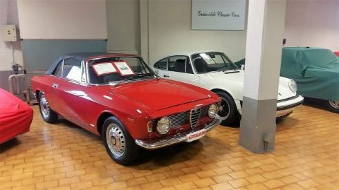 ALFA ROMEO Giulia GTC 1.6 SPRINT °UNICO PROPRIETARIO° INTROVABILE