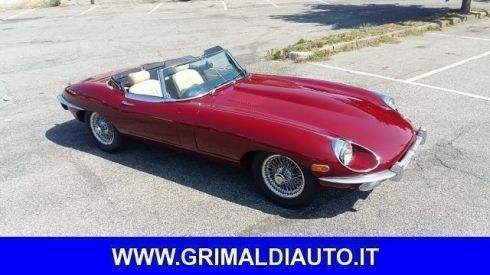 JAGUAR  E-Type SPIDER 4.2 con HERITAGE JAGUAR MATCHING COLOR