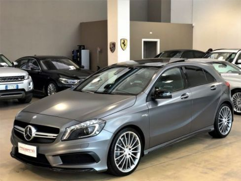 MERCEDES-BENZ A 45 AMG 4Matic - Pack Night AMG - Scarico - Tetto - Navi