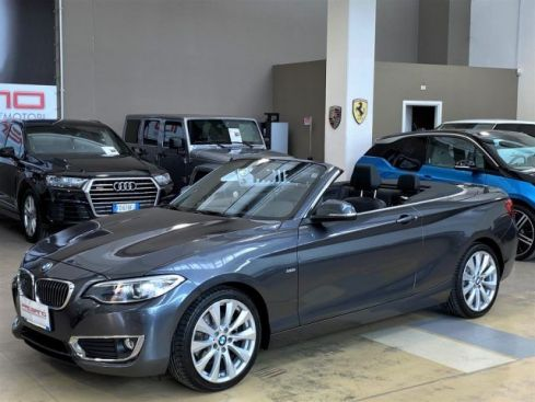 BMW 220 d Cabrio Luxury Automatica - LED - Navi PRO - 18""