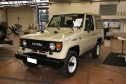 Toyota Land Cruiser Lj70 soft top cabrio