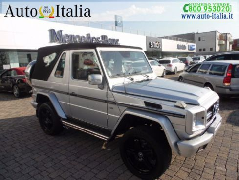 MERCEDES-BENZ G 500 500 cat Cabrio