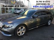 Mercedes-Benz E 220 D S.W. AUTOMATICA BUSINESS SPORT NAVI FULL COMAND Usata 2017