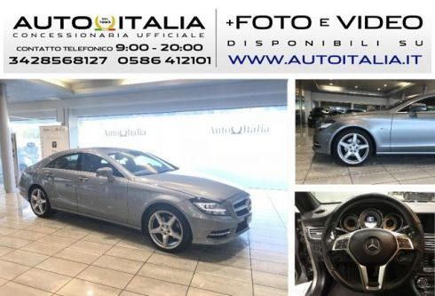 MERCEDES-BENZ CLS 350 CDI BlueEFFICIENCY PACK AMG 4Matic AIRMATIC TETTO