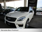 MERCEDES-BENZ ML 63 AMG ML 63 4MATIC AMG PERFORMANCE Usata 2013