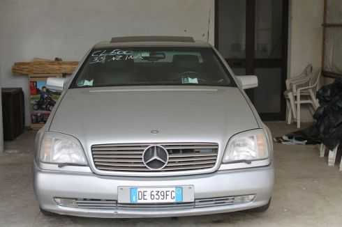 MERCEDES-BENZ CL 500 5.0 coupe