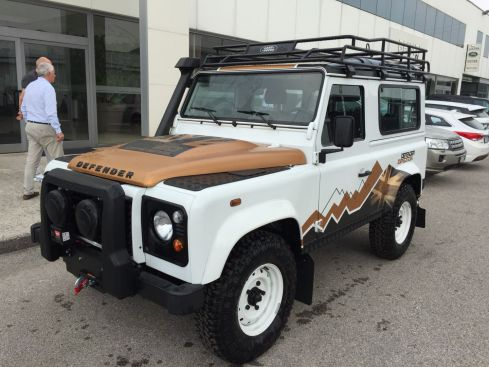 LAND ROVER Defender 90 SW Expedition Limited Edition