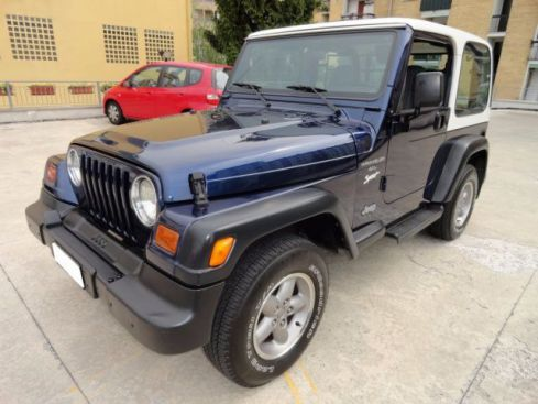 JEEP Wrangler 4.0 L cat Sport Hard top (EU) *UNICO PROPRIETARIO*