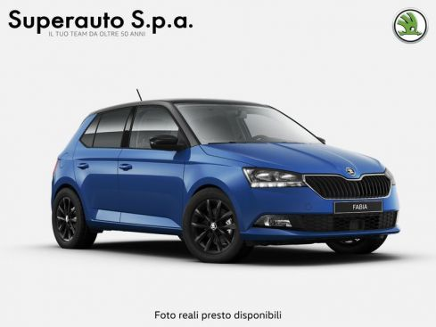 SKODA Fabia  1.0 MPI 60 CV Twin Color Nero