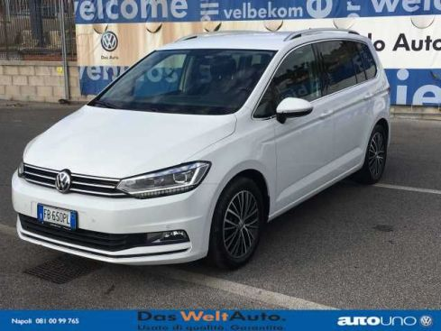 VOLKSWAGEN  Touran III 2.0 TDI 190 CV DSG Executive BlueMotion
