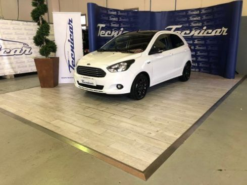 FORD Ka 1.2 Ti-VCT 85CV Black & White - White