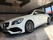 MERCEDES-BENZ CLA 45 AMG SHOOTING BRAKE 4-MATIC PERFORMANCE 381CV Usata 2018