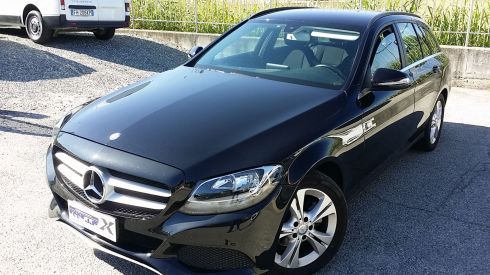 MERCEDES-BENZ C 180 BLUETEC EXECUTIVE EURO 6.2 SW KM CERTIFICATI