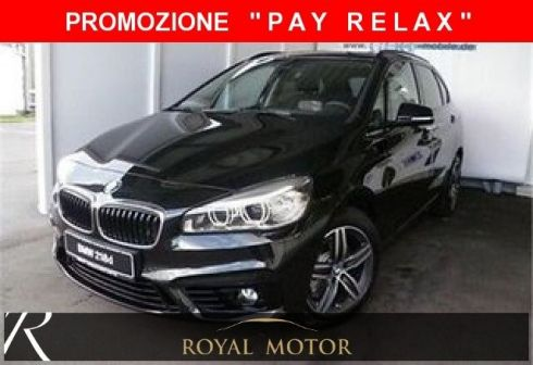 BMW 218 d Active Tourer Sport + AUTOMATICA + BI LED