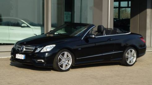 MERCEDES-BENZ E 250 CGI Cabrio BlueEFFICIENCY Avantgarde AMG