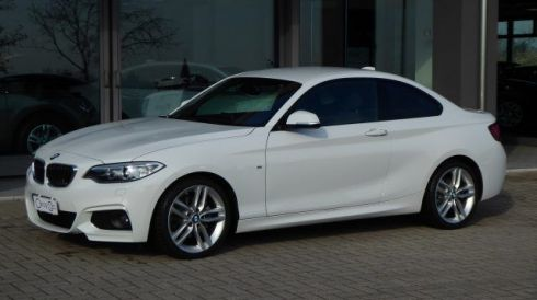 BMW 220 i Coupé Msport Automatico