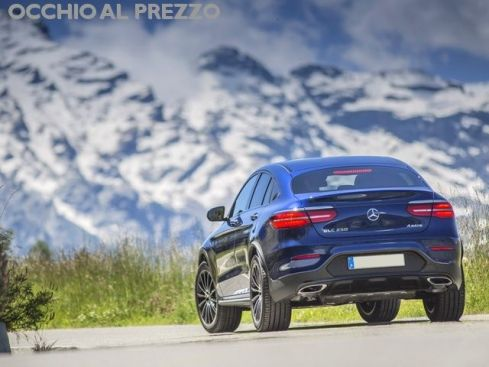 Mercedes-Benz GLC 220 D4 MATIC  COUPE'     PRONTA CONSEGNA