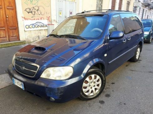KIA Carnival 2.9 16V CRDi cat EX Top