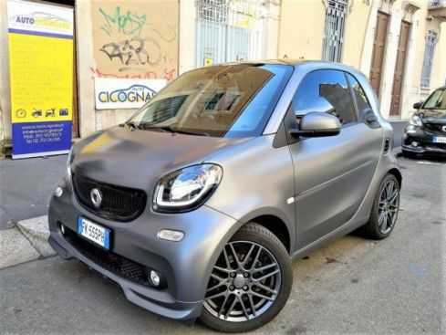 SMART ForTwo Turbo twinamic Solid Gray all. BRABUS