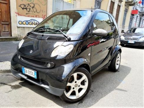 SMART ForTwo 700 pulse ALL BLACK / PELLE