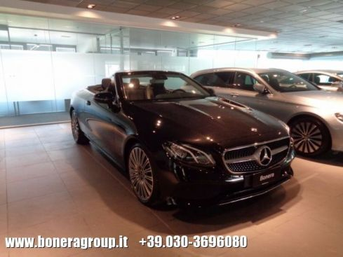 MERCEDES-BENZ E 220 d Cabrio Business Sport