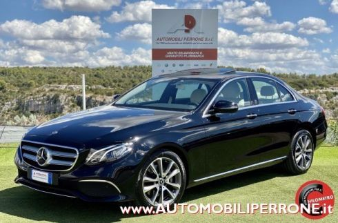 MERCEDES-BENZ E 220 d 4Matic Sport (Tetto/Pelle/Led/Autom.)