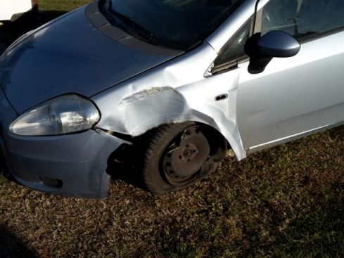 FIAT Grande Punto 1.3 MJT 75 CV 3 porte Dynamic - INCIDENTATA -