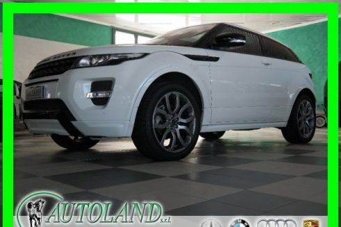 LAND ROVER Range Rover Evoque 2.0 Si4 Coupé Dynamic Automatica*Pelle Rossa*Iperf