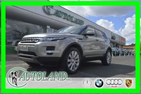 LAND ROVER Range Rover Evoque 2.2 Sd4 5p. Pure Tech Pack*PELLE TOTALE*NAVI*UNIPR