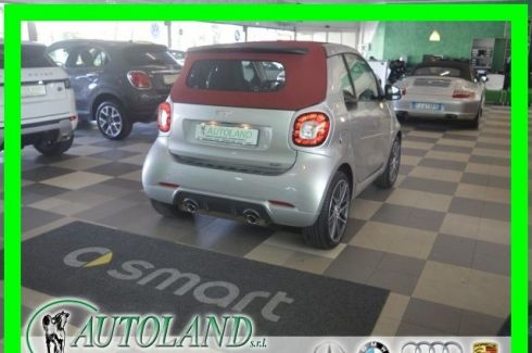 SMART ForTwo BRABUS 0.9 Turbo twinamic Cabrio Xclusive*PELLE*