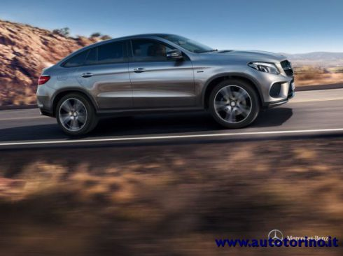 MERCEDES-BENZ GLE 400 GLE 400 4MATIC Coupé sport