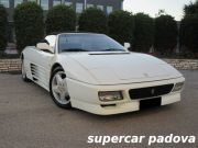 FERRARI 348 SPIDER CAT - ORIGINAL WHITE PAINT