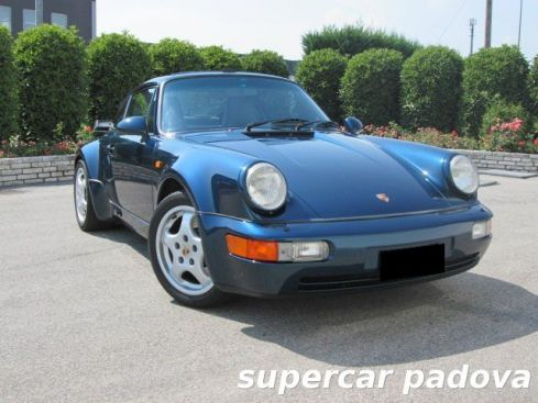 PORSCHE 964 3.3 Turbo cat Coupé - ORIGINAL PAINT - SERVICE