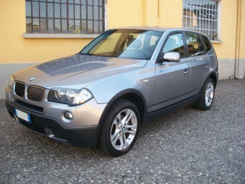 BMW X3 ANCHE X EXPORT  2.0 DPF cat 4X4 AUTOM-PELLE