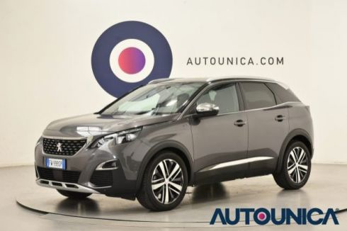PEUGEOT 3008 BLUEHDI EAT8 S&S GT TETTO PANORAMICO