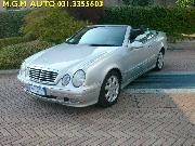 MERCEDES-BENZ CLK 200 KOMPRESSOR CAT CABRIO AVANTGARDE Usata 2000