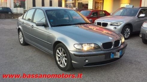 BMW 320 d turbodiesel cat 4 porte Futura