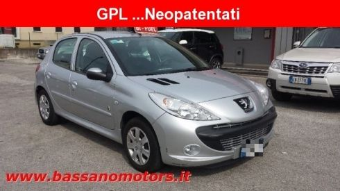 PEUGEOT 206 Plus 1.1 60CV 5p. Generation ECO GPL NEOPATENTATI