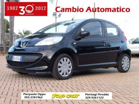 PEUGEOT 107 1.0 68CV Sweet Years CAMBIO AUTOM.